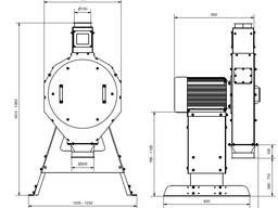 Зернодробилка молотковая RVO55 производства Neuero(Германия) - фото 6