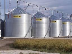 Зернохранилища силоса для зерна бочки обв