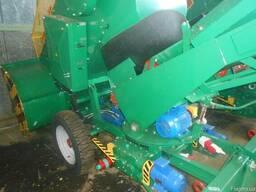 Ковшовый шнековый погрузчик зерна и кукурузы КШП-6М