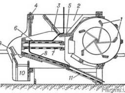 Зерноочиститель Веялка-сепаратор для первичной очистки