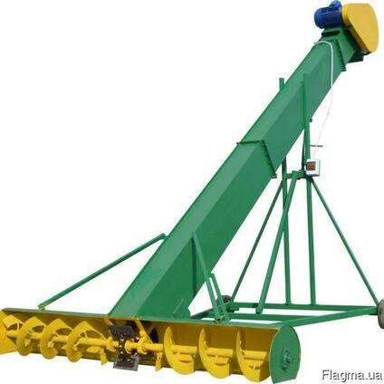 Зернопогрузчик ЗПС-10 зернометатель, погрузчик зерна
