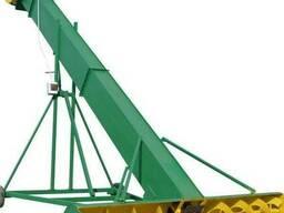 Зернопогрузчик ЗПС-10 зернометатель, погрузчик зерна - фото 2
