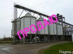 Зерносховище елеватор 150 тонн. Б/У. Бочки на зерно силос.
