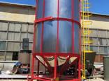 Зерносушилка бункерная циркуляционная СБЦ-32, Зерносушилка 32м³ - фото 1