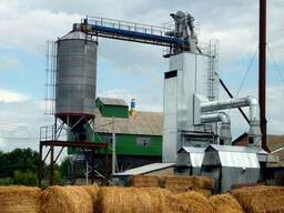 Зерносушилка на альтернативном виде топливa