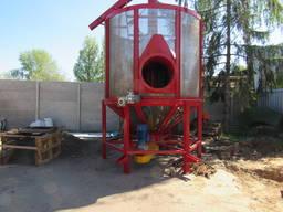 Зерносушилка бункерная циркуляционная СБЦ-8; Мини зерносушилка 8 м³