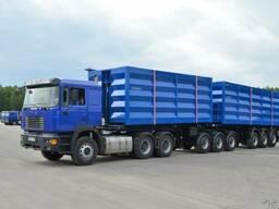 Перевозки сыпучих грузов по области и Украине
