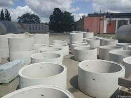 Ж/Б кольца для колодцев, выгребных ям, систем канализации - фото 1