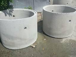 Ж/Б кольца для колодцев, выгребных ям, систем канализации - фото 2