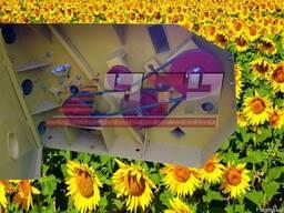 Жатка для уборки подсолнечника; Жатка ЖНС - 6-7.4-9.1 метров - фото 2