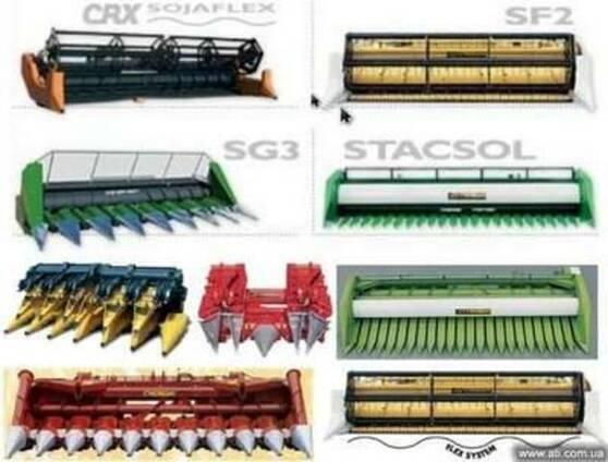 Жатки Cressoni (Италия) зерно, кукуруза, соя, рапс и др