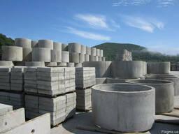 Бетонні кільця з доставкою - замовлення і доставка в Україні
