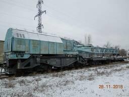ЖД Кран железнодорожный ЕДК 500 1984 г. в. груз-ть 50тн