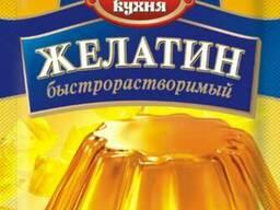 Желатин пищевой фасованный, пачка -25 грамм