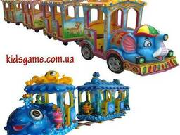 Железная дорога для детей Детский паровоз Аттракцион