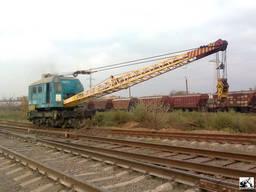 Железнодорожный кран