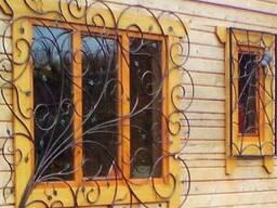 Железные решетки на окна и балконы