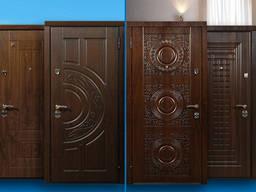 Железные Входные Двери с Отделкой