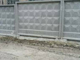 Железобетонный забор ЗП 400-8 цена, купить, доставка