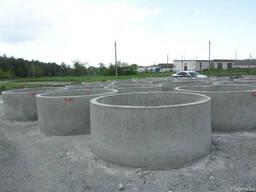 Железобетонные кольца 1,7 м Кременчуг