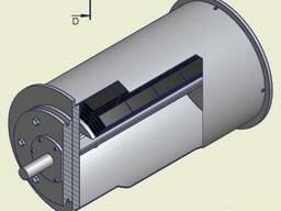 Железоотделитель шкивной для конвейера 300-650 мм