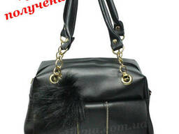 Женская кожаная сумка клатч мини шкіряна вместительная. ..