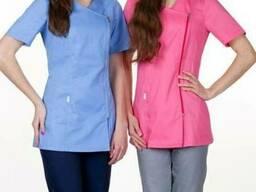 Женская медицинская куртка Диана