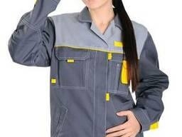 Женская рабочая курточка, женская спецодежда,