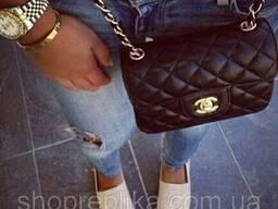 Женская сумочка Chanel мини 19 см Сумки Шанель копии