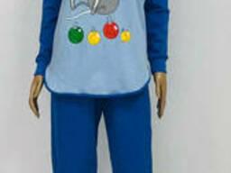 Женская Трикотажная пижама на байке 44-52 р, ,доставка по. ..