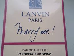 Женская туалетная вода люкс тестер lanvin marry me 100 мл