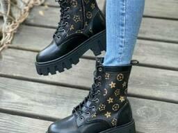 Женские Ботинки ЛВ черные