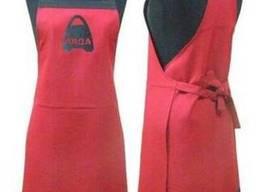 Женские фартуки для продавцов, пошив оптом модных фартуков