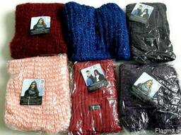Женские шарфы-снуды