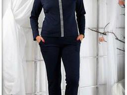 Женский костюм брючный(50-56), доставка по Украине