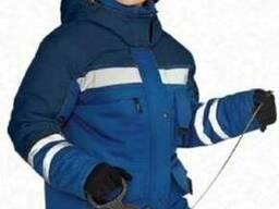 Женский костюм зимний утепленный(синтепон) с усилениями