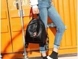 Женский кожаный стильный рюкзак. Розница. Опт. - фото 1