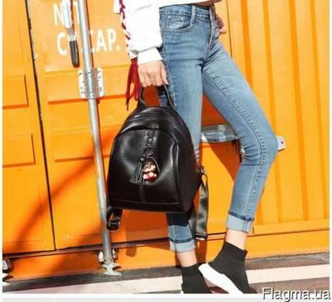 Женский кожаный стильный рюкзак. Розница. Опт.