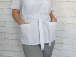 Женский медицинский костюм Американка, ткань Элит-котон