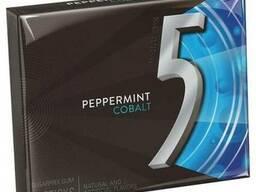 Жевательная резинка Wrigley's 5 chewing gum Cobalt Peppermin