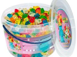 Жувальний мармелад ТМ Jelly Juice Веселі ведмедики, 0,45 кг. Box (1шт. - 3г)