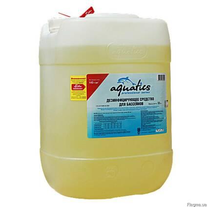 Жидкий хлор для бассейна Aquatics.