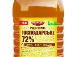 """Жидкое Хозяйственное мыло 72% 5л. ТМ """"Kavati"""""""