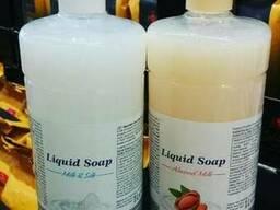 Жидкое мыло для рук Liquid Soap Milk & Silk 1Л.