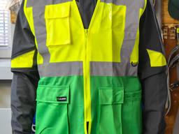 Жилет світловідбиваючий жовто-зелений Sizam Coventry