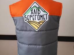 Жилетка стеганная жилет рабочий жилетки с лого пошив жилетов