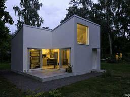 Жилые дома, дачные дома, летние домики, домики для турбаз,