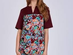 Жіночий медичний костюм Фіалка