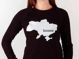 """Жіночий світшот """"Home"""" (533)"""