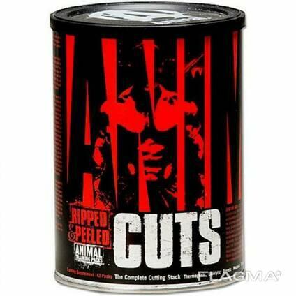 Жиросжигатель Universal Nutrition Animal Cuts 42 packs